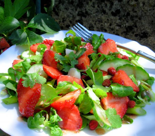 Strawberry and Greens Salad
