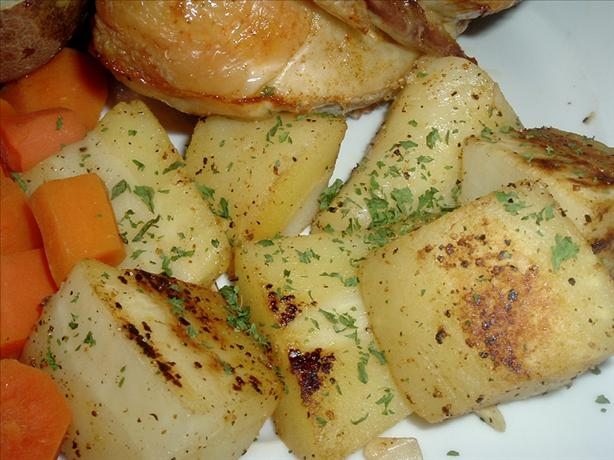 Parsnips with Almonds