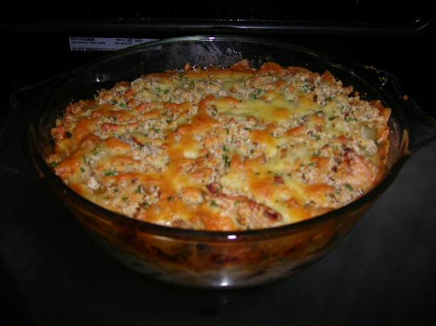 Chicken and Mustard Crumble