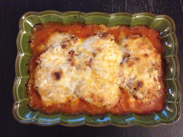 Quick and Easy Chicken Parmesan