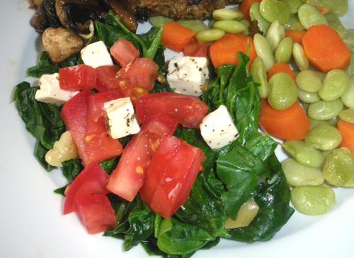 Mediterranean Spinach