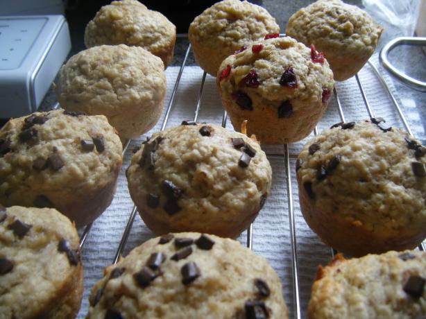 Grandmom Manghans Banana Oatmeal Muffins