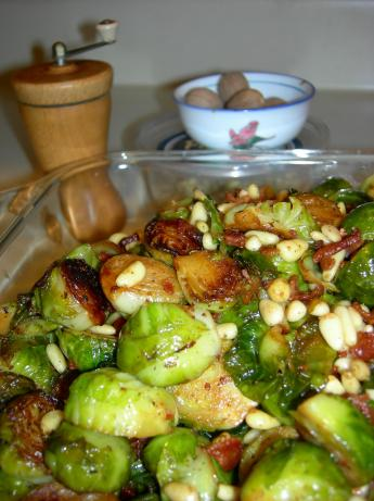 Gretchen's Brussels Sprouts