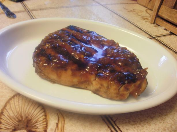 Mean Chef's Grilled Swordfish With Barbecue Sauce