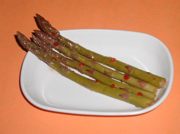 Nat's Easy Marinated Asparagus