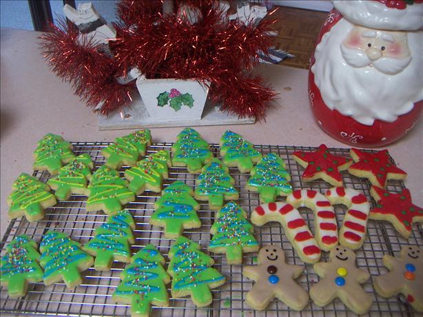 Golden Sugar Cookies