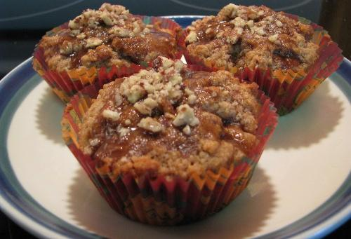 Pecan Cinnamon Muffins