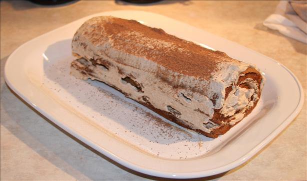 Chocolate-Cinnamon Cake Roll
