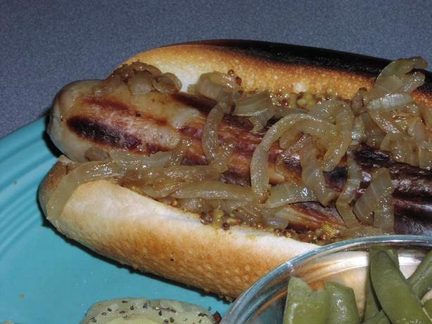 Gegrillte Bratwurst (Grilled Bratwurst)