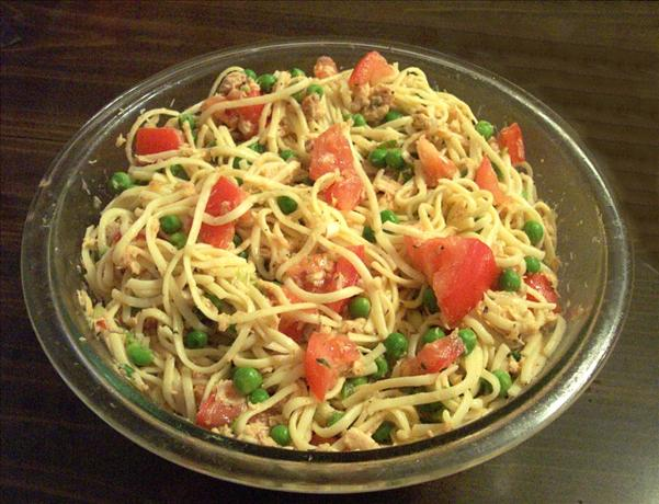 Linguine Tuna Salad