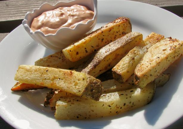 Savory Oven French Fries