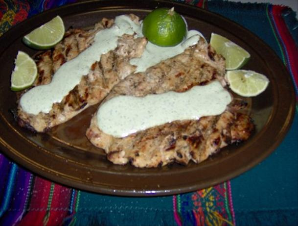 Chicken With Dill Sauce