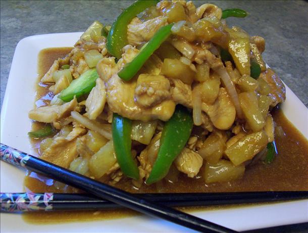 Audrey's Oriental Chicken