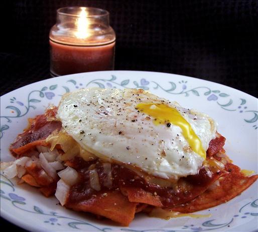 Enchiladas (Red Chili)