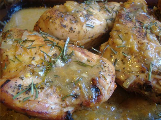Orange Baked Chicken II