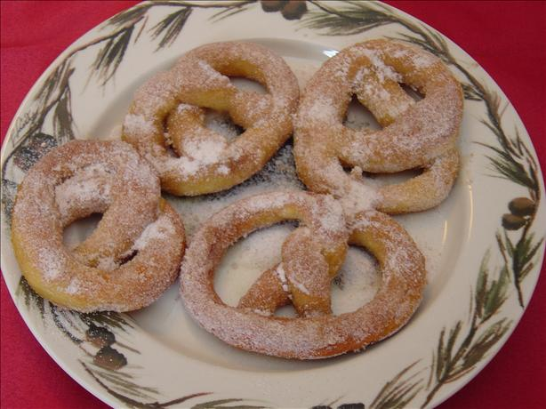 New Year's Pretzels