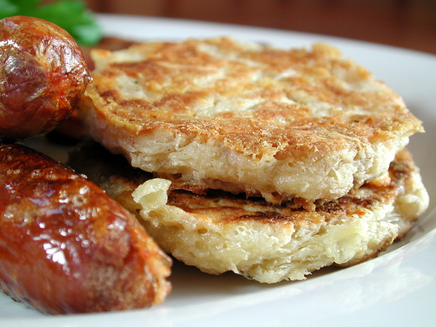 Cheddar Pancakes