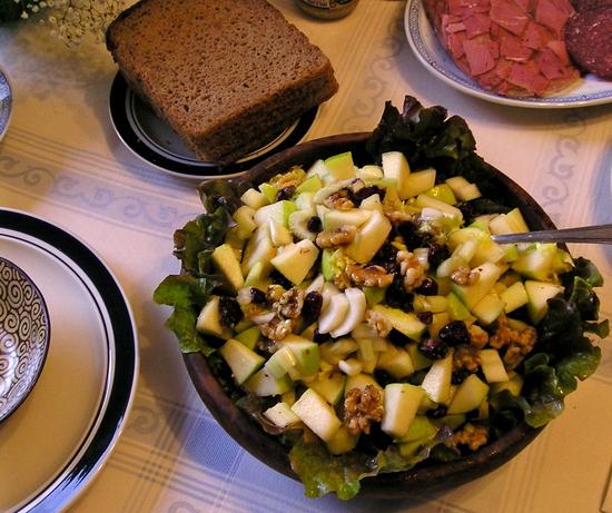 Ginger Apple Salad