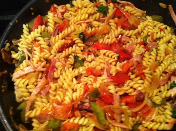 Penne Piperade