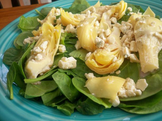 Artichoke and Spinach Salad