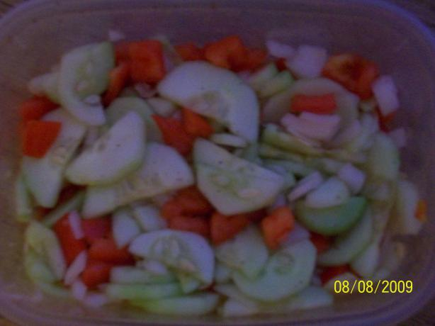 Dutch Cucumber Salad