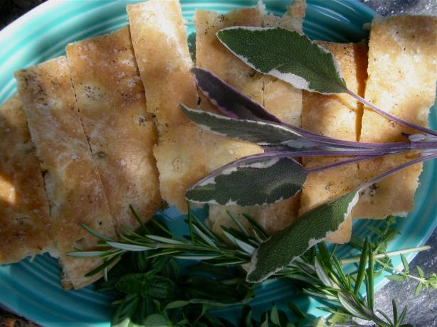 Focaccia with Mixed Herbs