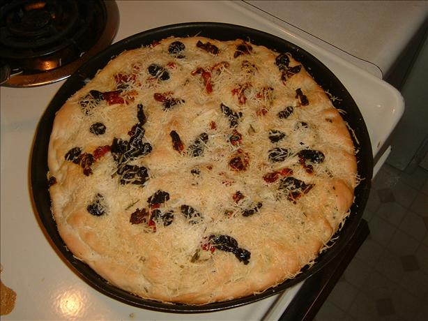 Focaccia with Rosemary & Olives