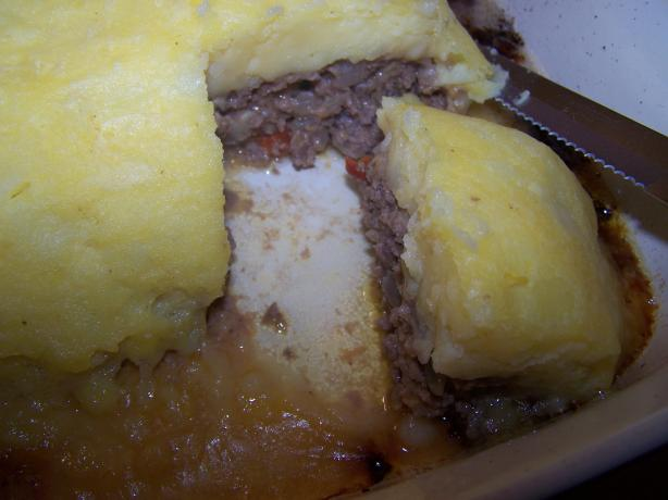 Potato-Crusted Meatloaf