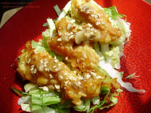 Warr-Shu-Gai Almond Boneless Chicken