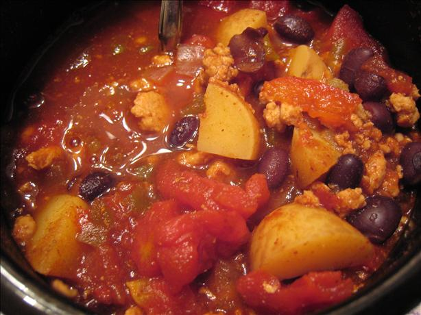 Smokin' Irish-Mex Turkey Chili