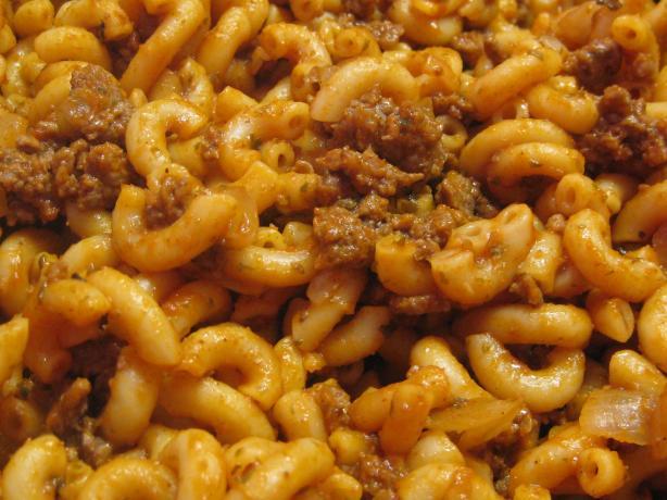 One Pan Beefy Mac