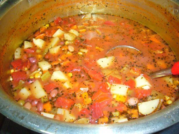 Bean and Potato Soup