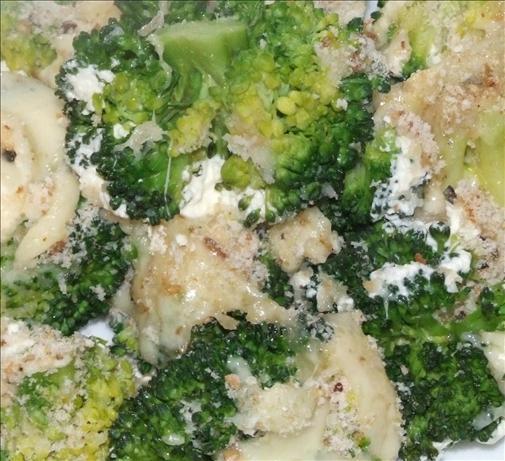 Broccoli with Sour Cream