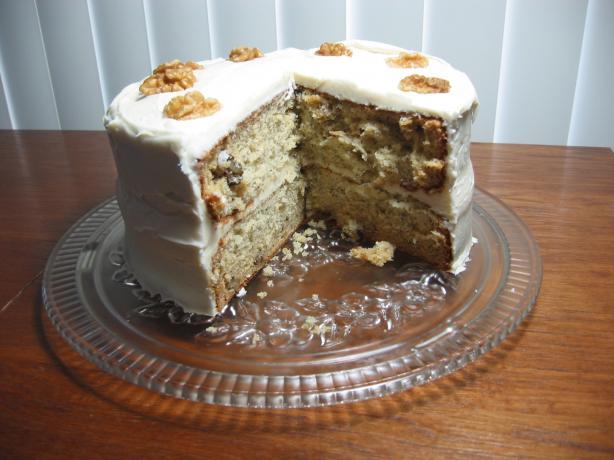 Banana Chiffon Cake