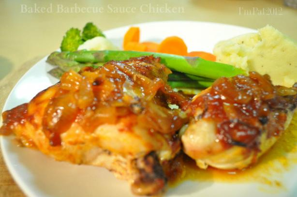 Baked Barbecue Sauce Chicken