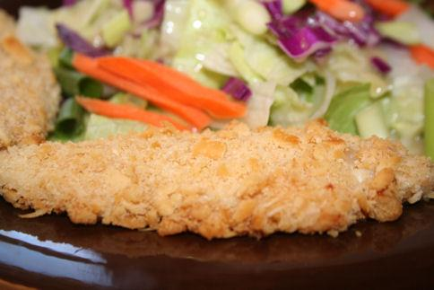 Gray Girls' Easy Chicken Fingers