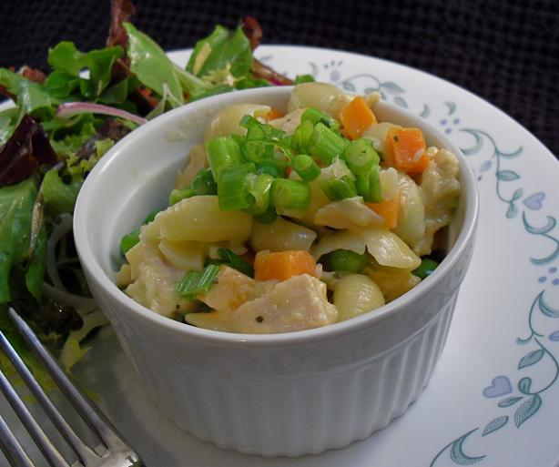 Low-Fat Easy Macaroni and Cheese with Vegetables