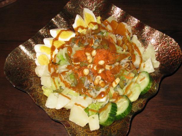 Gado Gado: Indonesian Salad