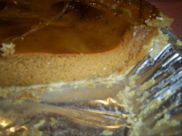 Low-Fat Pumpkin Pie