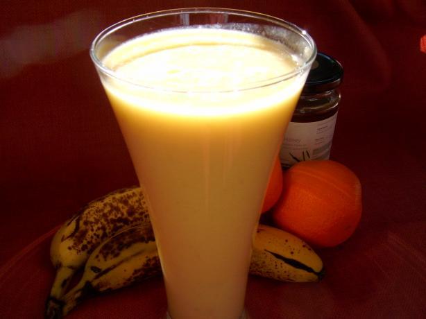 Orange Banana Drink