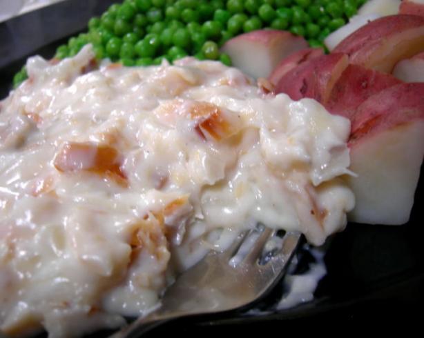 Creamed Finnan Haddie (Smoked Haddock)