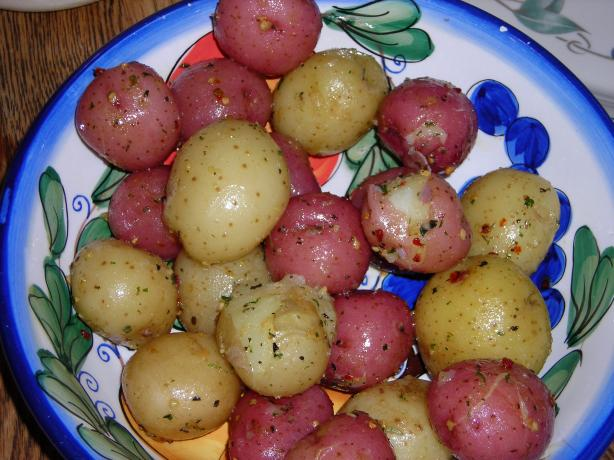 Garlic Mini Potatoes