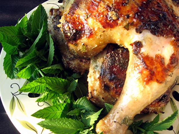 Ginger Minted Chicken