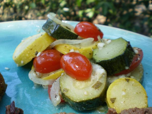 Summer Vegetables in Parchment Paper