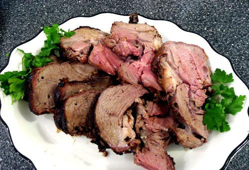 Barbecued Lamb