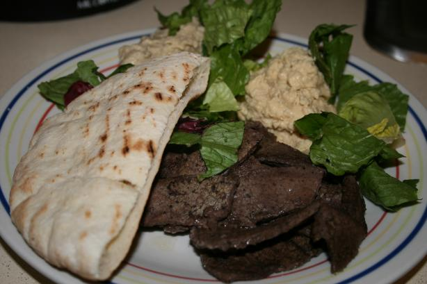 Easy Meat Shwarma