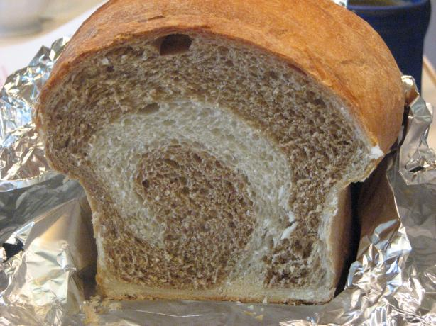 Two-Tone Yeast Bread