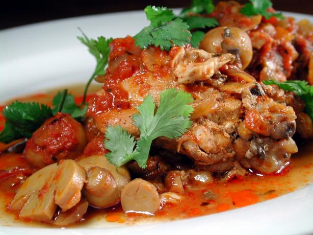 Varna-Style Braised Chicken (Bulgarian Dish)