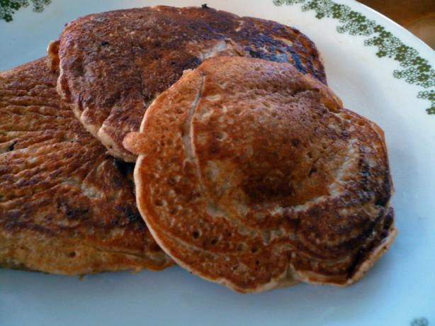 Buttermilk Wheat Pancakes