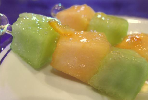 Melon With Sweet Lime Dressing